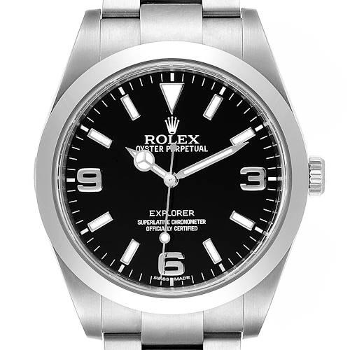 Photo of Rolex Explorer I 39mm Automatic Steel Mens Watch 214270