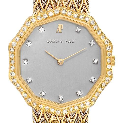 Photo of Audemars Piguet Vintage 18k Yellow Gold Diamond Ladies Watch 256731