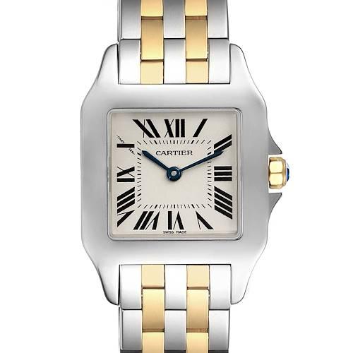 Photo of Cartier Santos Demoiselle Steel 18K Yellow Gold Midsize Watch W25067Z6