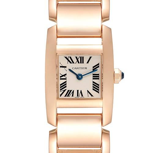 Photo of Cartier Tankissime Silver Dial Rose Gold Ladies Watch W650048H