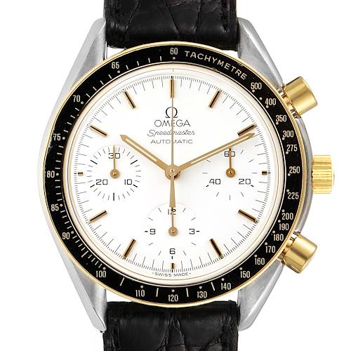 Photo of Omega Speedmaster Steel Yellow Gold Chronograph Mens Watch 3310.20.00
