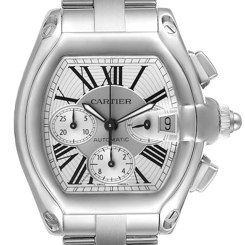 Photo of Cartier Roadster XL Chronograph Automatic Mens Watch W62019X6