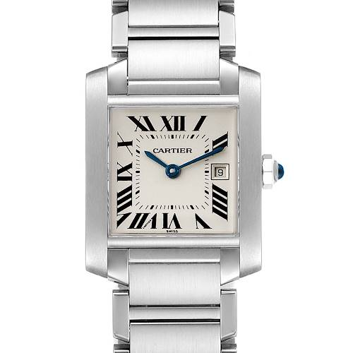 Photo of Cartier Tank Francaise Midsize 25mm Ladies Watch W51011Q3