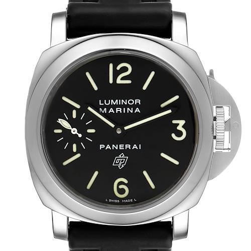Photo of Panerai Luminor Marina Logo 44mm Black Dial Mens Watch PAM00005