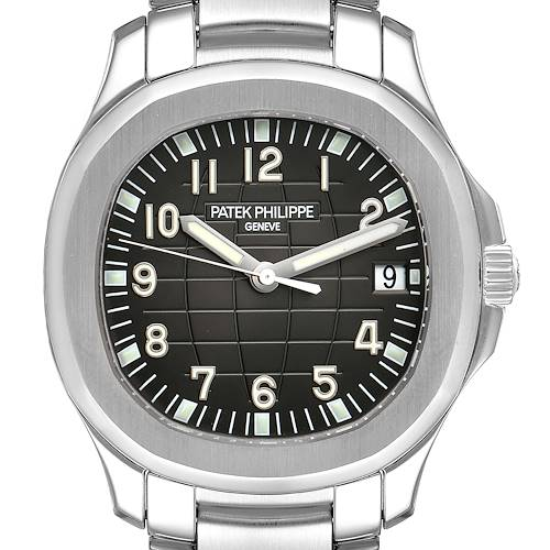 Photo of Patek Philippe Aquanaut Extra Large Mens Watch 5167A Papers