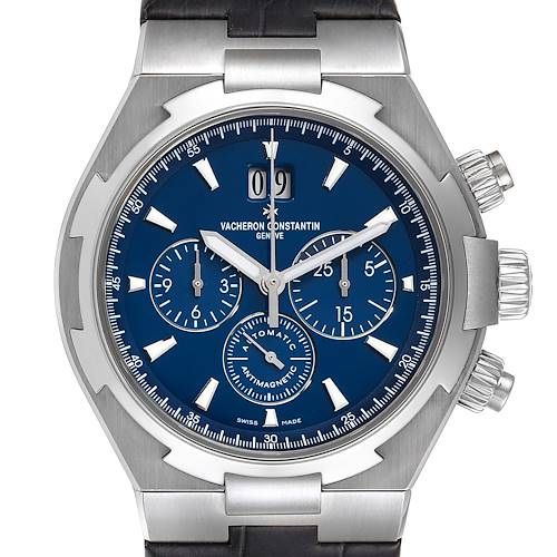 Vacheron Constantin Overseas Chronograph Blue Dial Watch 49150