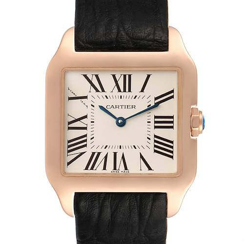 Photo of Cartier Santos Dumont Small 18k Rose Gold Unisex Watch W20095Y1