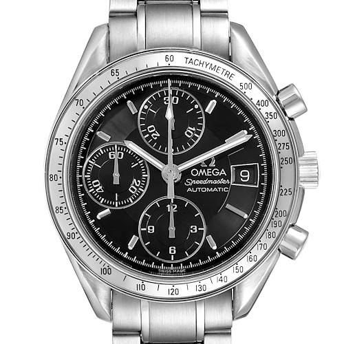 Photo of Omega Speedmaster Date 39mm Automatic Steel Mens Watch 3513.50.00 Tag