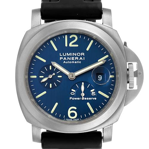 Photo of Panerai Luminor Power Reserve Titanium Mens Watch PAM00093 Box Papers