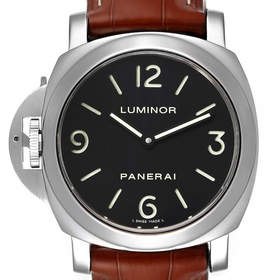 Panerai Luminor Base 44mm Left Handed Watch PAM219 PAM00219 SwissWatchExpo