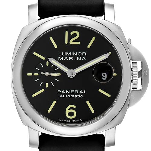 Photo of Panerai Luminor Marina Automatic 44mm Steel Mens Watch PAM00104