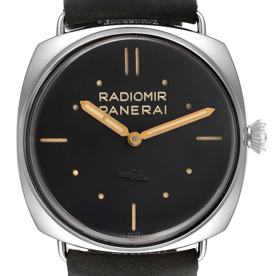 Panerai Radiomir SLC Acciaio 47mm 3 Days Power Reserve Watch PAM00425 SwissWatchExpo