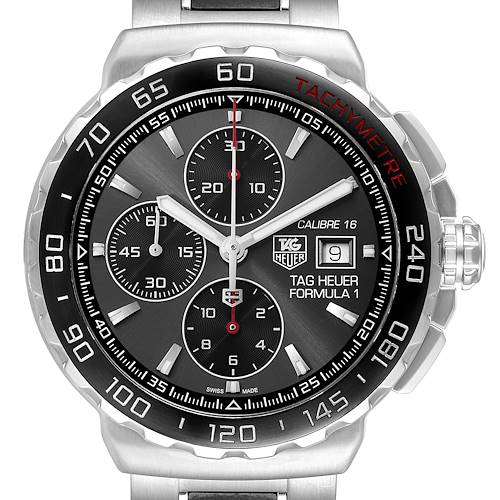 Photo of Tag Heuer Formula 1 Calibre16 Chronograph Steel Mens Watch CAU2011