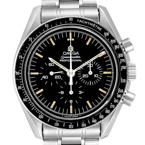 Photo of Omega Speedmaster 861 Steel Mens Moon Watch 3590.50.00 Card
