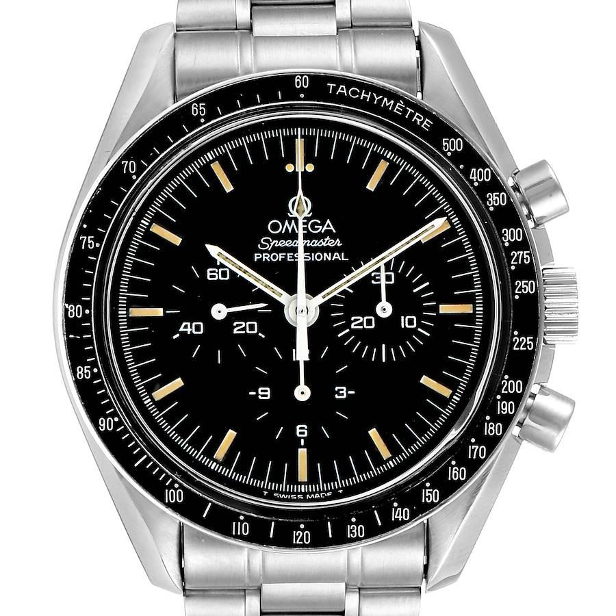 Omega Speedmaster 861 Steel Mens Moon Watch 3590.50.00 Card SwissWatchExpo