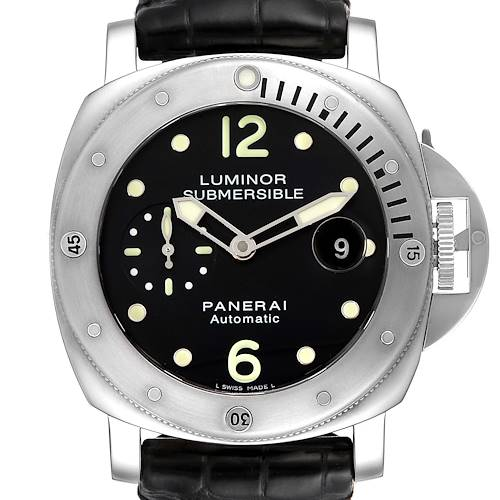 Photo of Panerai Luminor Submersible 44mm Steel Mens Watch PAM00024
