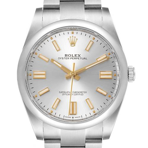 Rolex Oyster Perpetual 41mm Automatic Steel Mens Watch 124300 Unworn