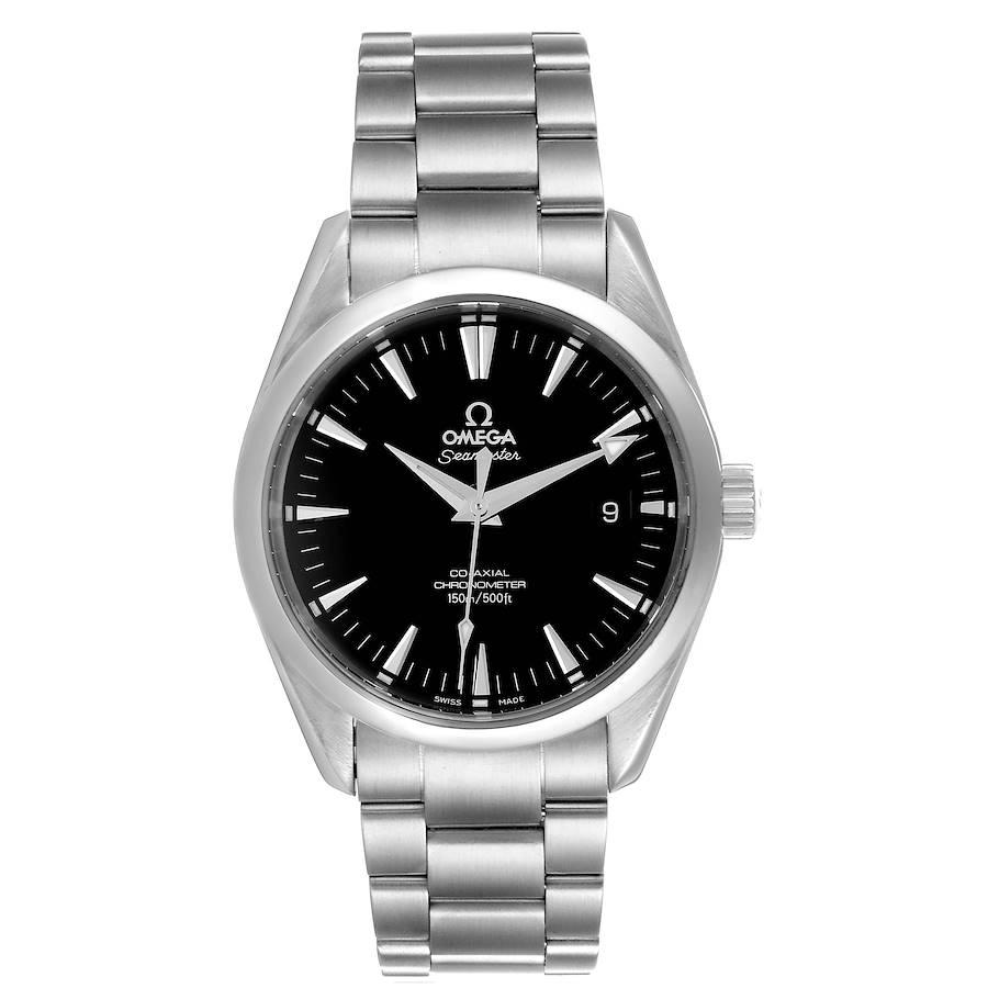 Omega Seamaster Aqua Terra Black Dial Steel Mens Watch 2503.50.00 SwissWatchExpo