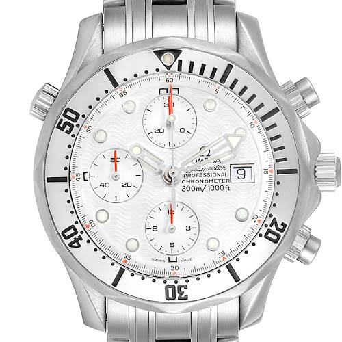 Photo of Omega Seamaster Chronograph Autiomatic Mens Watch 2598.20.00 Card