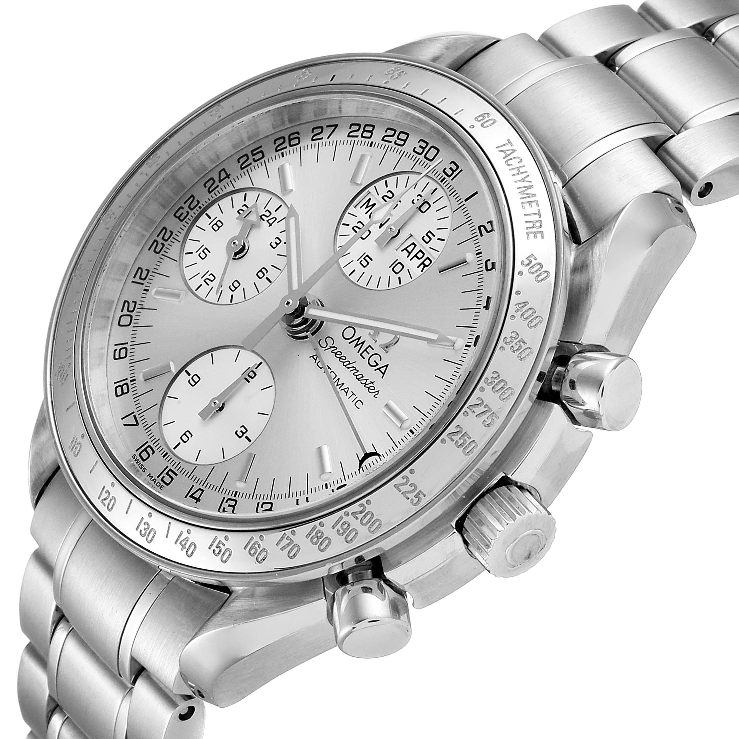 Omega Speedmaster Day Date Chronograph Steel Mens Watch 3523.30.00 SwissWatchExpo