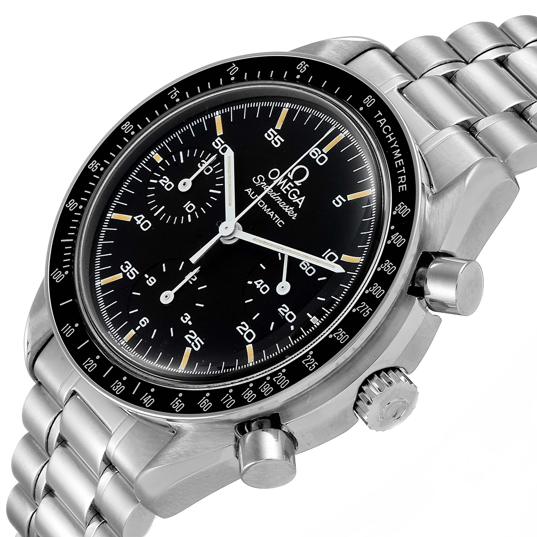 Omega Speedmaster Reduced Hesalite Crystal Mens Watch 3510.50.00 SwissWatchExpo