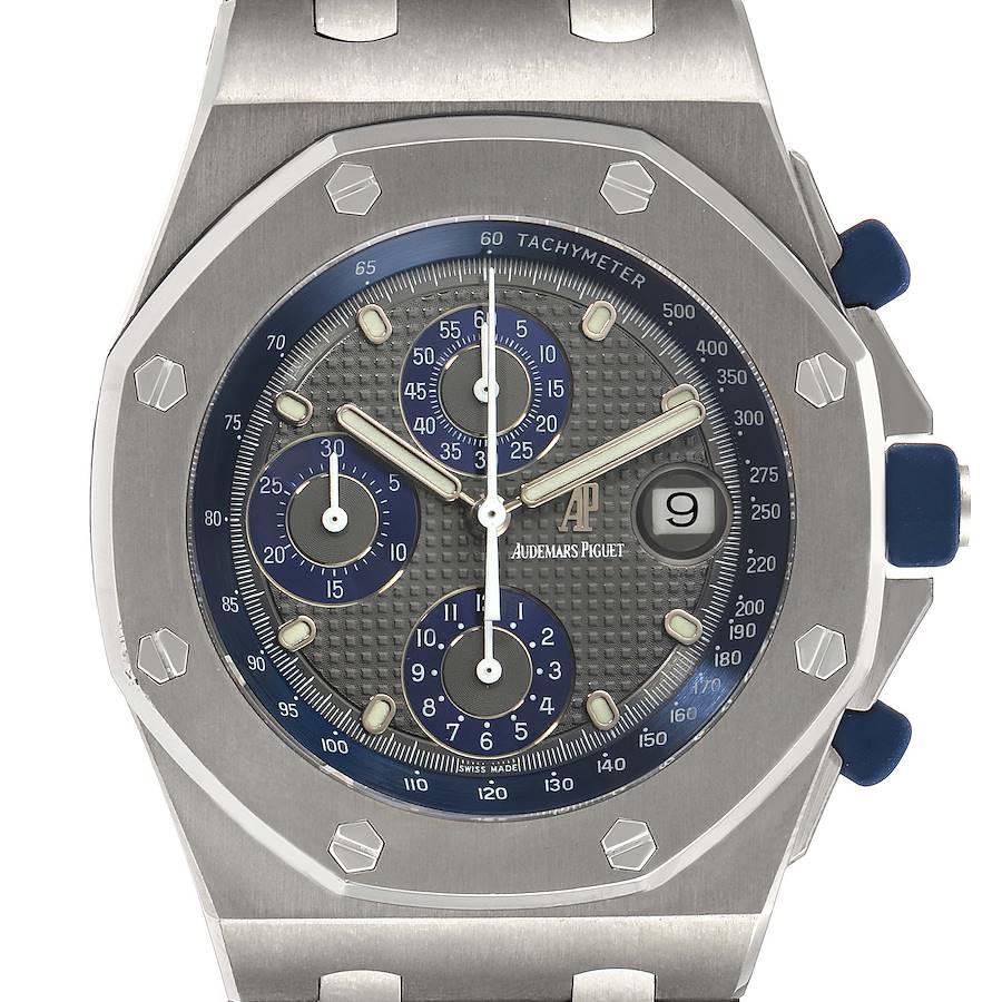 Audemars Piguet Royal Oak Offshore Chronograph Titanium Mens Watch 25721TI  SwissWatchExpo