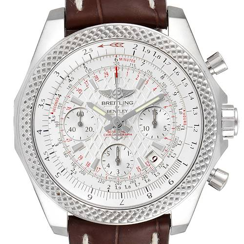 Breitling Bentley B05 Unitime Silver Dial Mens Watch AB0612 Box Papers