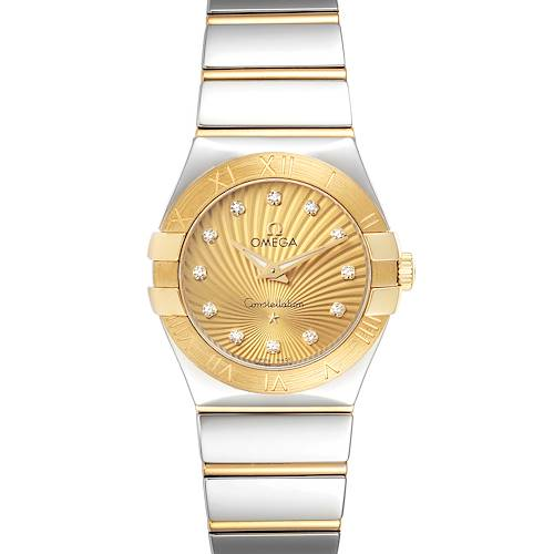 Photo of Omega Constellation Steel Yellow Gold Diamond Watch 123.20.27.60.58.002