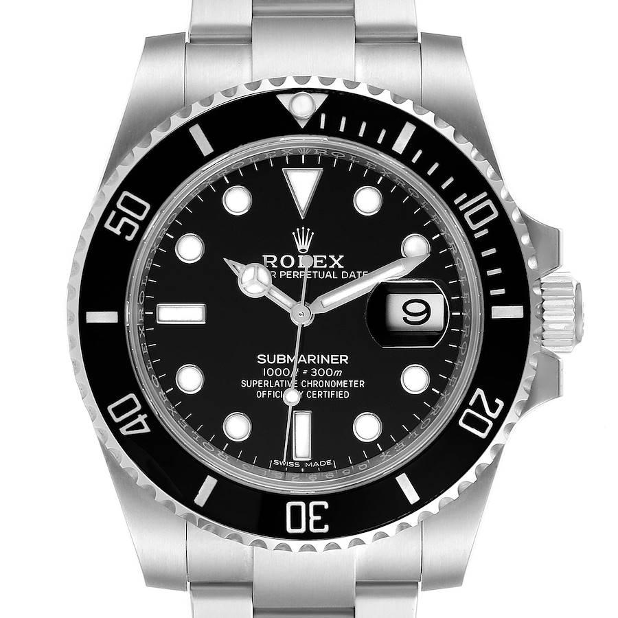 Rolex Submariner Ceramic Bezel Steel Mens Watch 116610 Box Card SwissWatchExpo