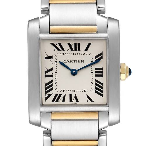 Photo of Cartier Tank Francaise Midsize Two Tone Ladies Watch W2TA0003
