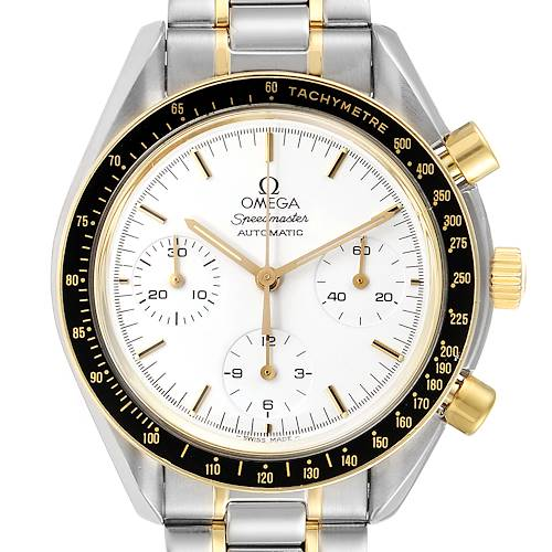 Photo of Omega Speedmaster Steel Yellow Gold Chronograph Mens Watch 3310.20.00 Card