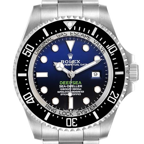 Photo of Rolex Seadweller Deepsea 44 Cameron D-Blue Dial Mens Watch 126660 Unworn