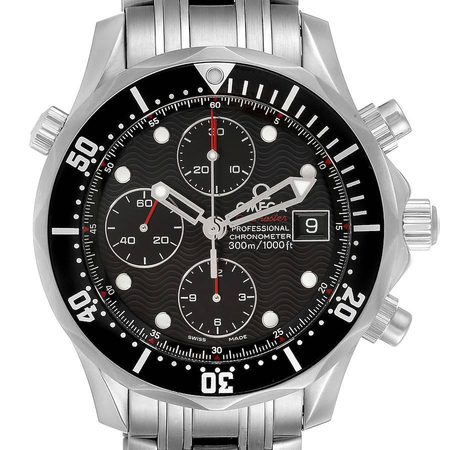 Omega Seamaster 300M Chronograph Black Dial Watch 213.30.42.40.01.001 SwissWatchExpo