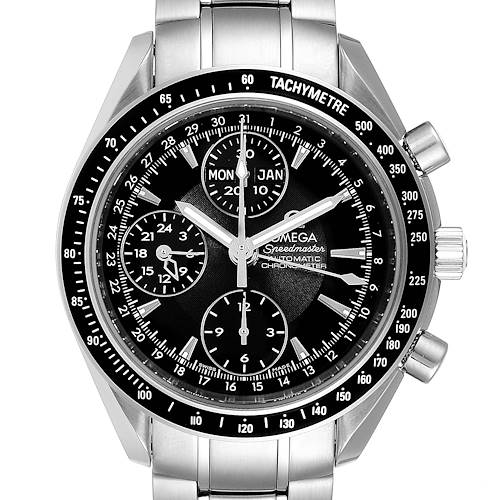 Photo of Omega Speedmaster Day-Date Chronograph Watch Watch 3220.50.00 Box Papers