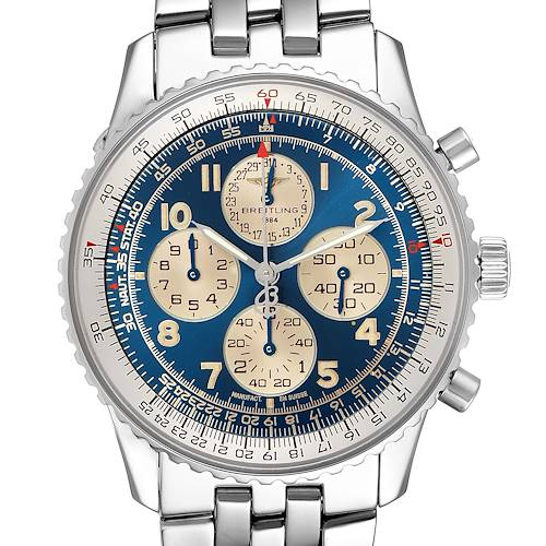 Photo of Breitling Navitimer Airborne Blue Dial Steel Mens Watch A33030