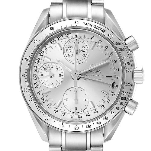 Photo of Omega Speedmaster Day Date Chronograph Steel Mens Watch 3523.30.00 Card