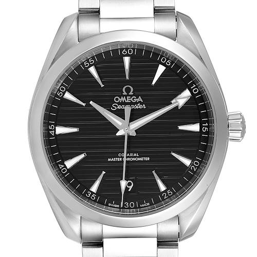 Photo of Omega Seamaster Aqua Terra Black Dial Watch 220.10.41.21.01.001 Box Card