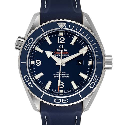 Photo of Omega Seamaster Planet Ocean Midsize Watch 232.92.38.20.03.001 Box Papers