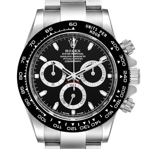 Photo of Rolex Cosmograph Daytona Ceramic Bezel Black Dial Mens Watch 116500