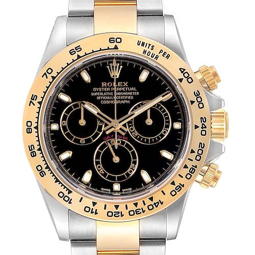 Photo of Rolex Cosmograph Daytona Steel Yellow Gold Mens Watch 116503 Box Card Unworn