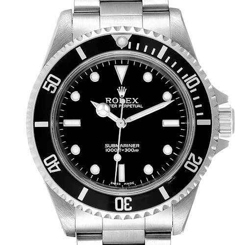 Photo of Rolex Submariner 40mm Non-Date 2 Liner Steel Steel Mens Watch 14060