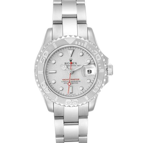 Photo of Rolex Yachtmaster 29 Steel Platinum Ladies Watch 169622