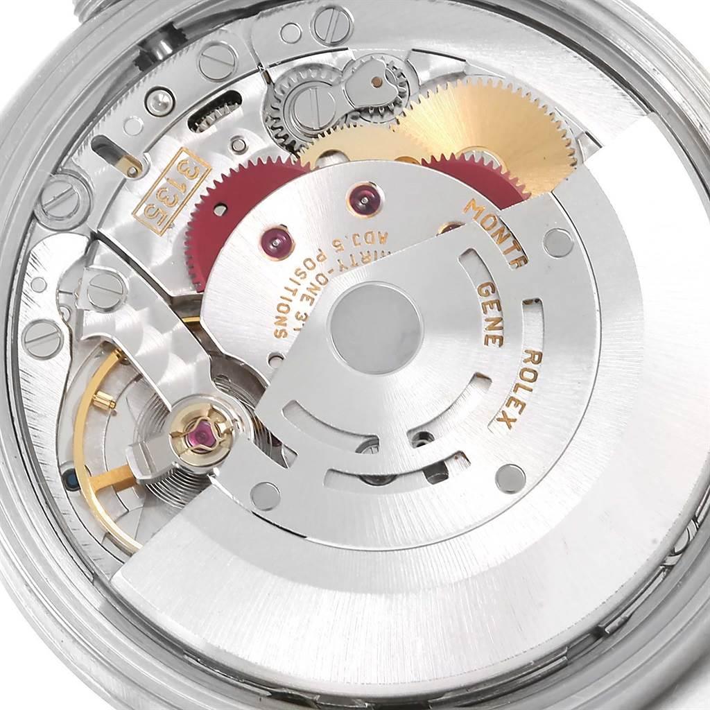 Rolex Date White Dial Oyster Bracelt Steel Mens Watch 15200 SwissWatchExpo
