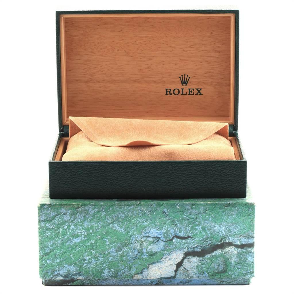 22361 Rolex Date Black Dial Oyster Bracelt Steel Mens Watch 15200 SwissWatchExpo