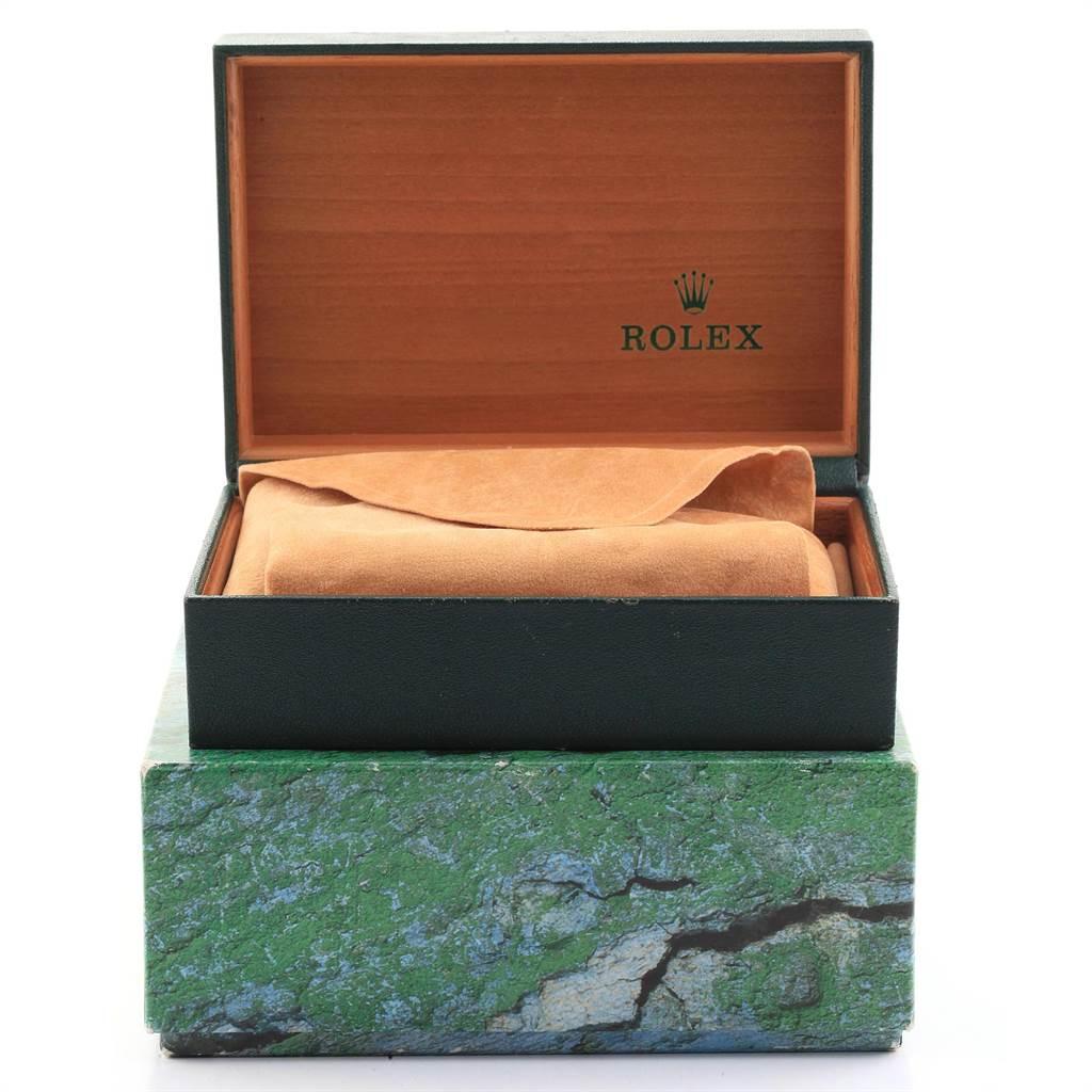 22356 Rolex Date Salmon Dial Oyster Bracelet Steel Mens Watch 15200 SwissWatchExpo