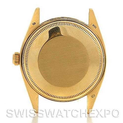 2695 Rolex Date 1503 Mens 14k Yellow Gold Watch Year 1979 SwissWatchExpo