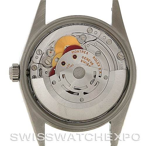 2850 ROLEX  DATE MENS STEEL WATCH 15210 YEAR 2002 SwissWatchExpo