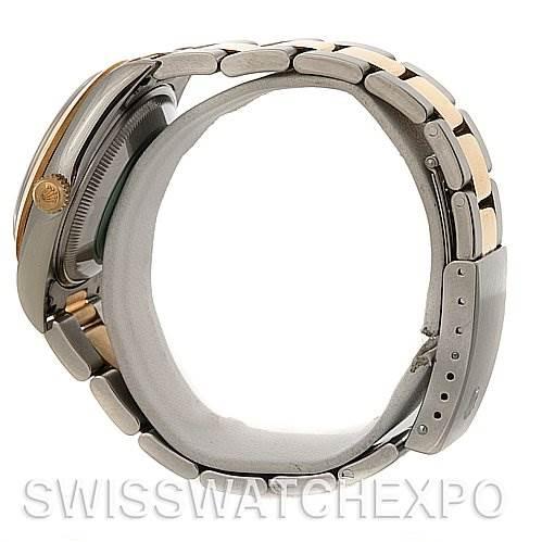 4013 Rolex Date Steel 18k Yellow Gold 15203 Unworn NOS SwissWatchExpo