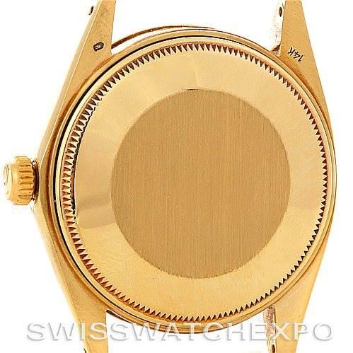 Vintage Rolex Date 1503 Mens 14k Yellow Gold Watch SwissWatchExpo