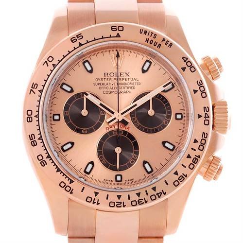 Photo of Rolex Cosmograph Daytona Everose 18K Rose Gold Watch 116505